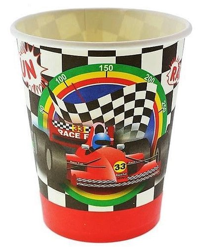 "Magicoo Partybekers ""Auto's-Formule 1"""