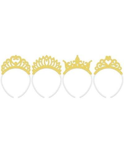 Magicoo Goudkleurige tiara set (4 stuks)