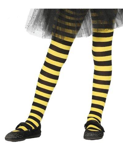 Magicoo Gele pantys  met strepen