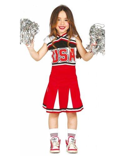 Magicoo Cheerleader jurk kinderen
