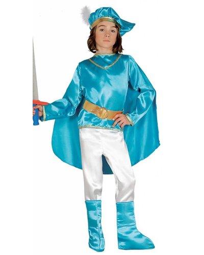 Magicoo Blauw prins kostuum kinderen