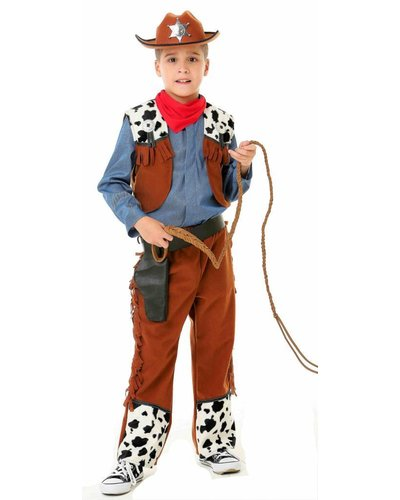 Magicoo Cowboy kostuum voor kinderen