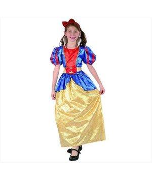 Magicoo Sneeuwwitje kostuum meisje sneeuwwitjejurk kinderen
