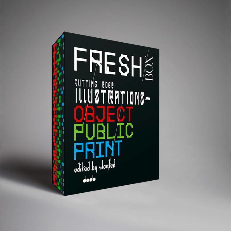 Daab Publishers FRESH Box: Cutting Edge Illustrations