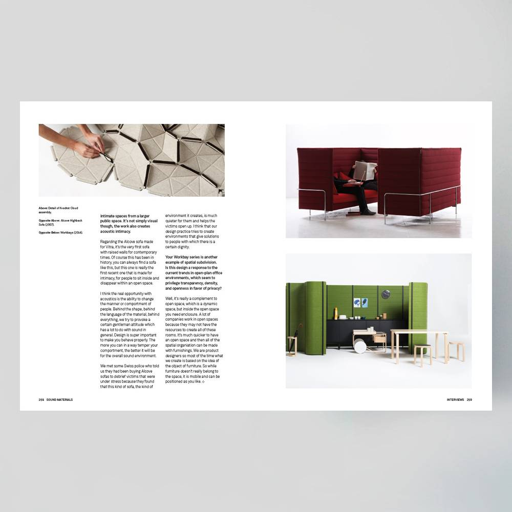 Frame Publishers Sound Materials A Compendium Of Absorbing For Architecture And Design