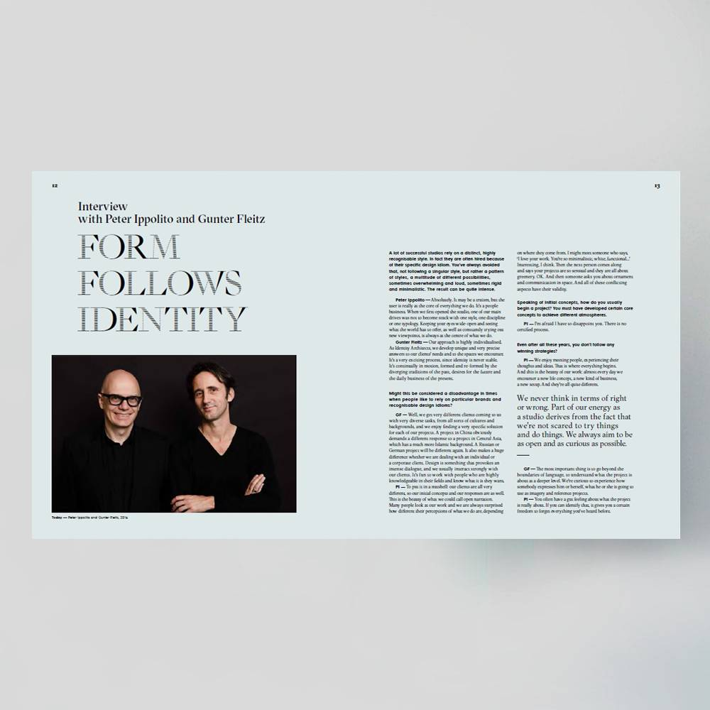 Ippolito fleitz identity architects by frame publishers for Peter ippolito