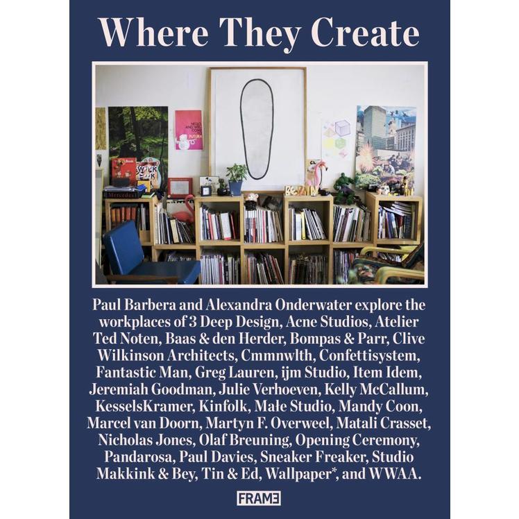 Where They Create: 32 Creative Studios Shot by Paul Barbera