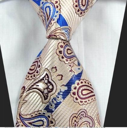 Tie Paisley - Cream