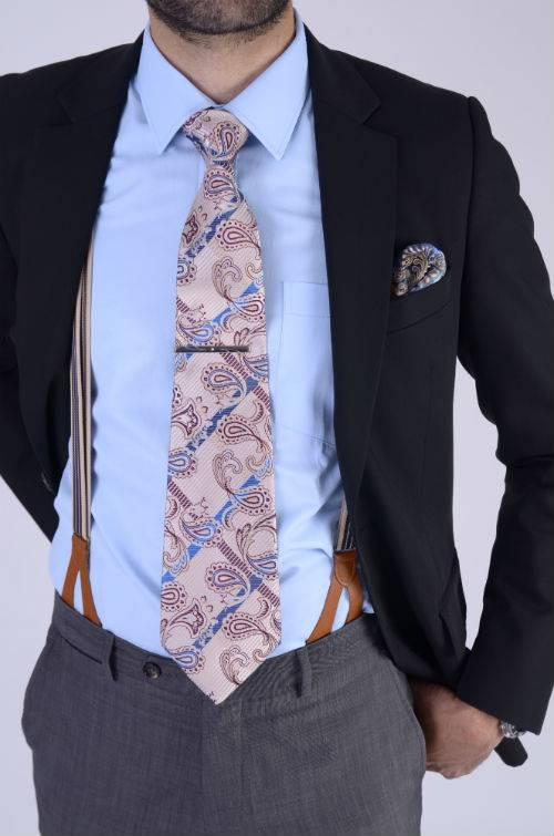 Luxe Tie Clip met Zirkonia