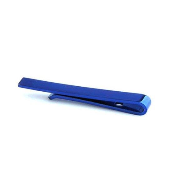 Blauwe Stropdas Clip - Design in het