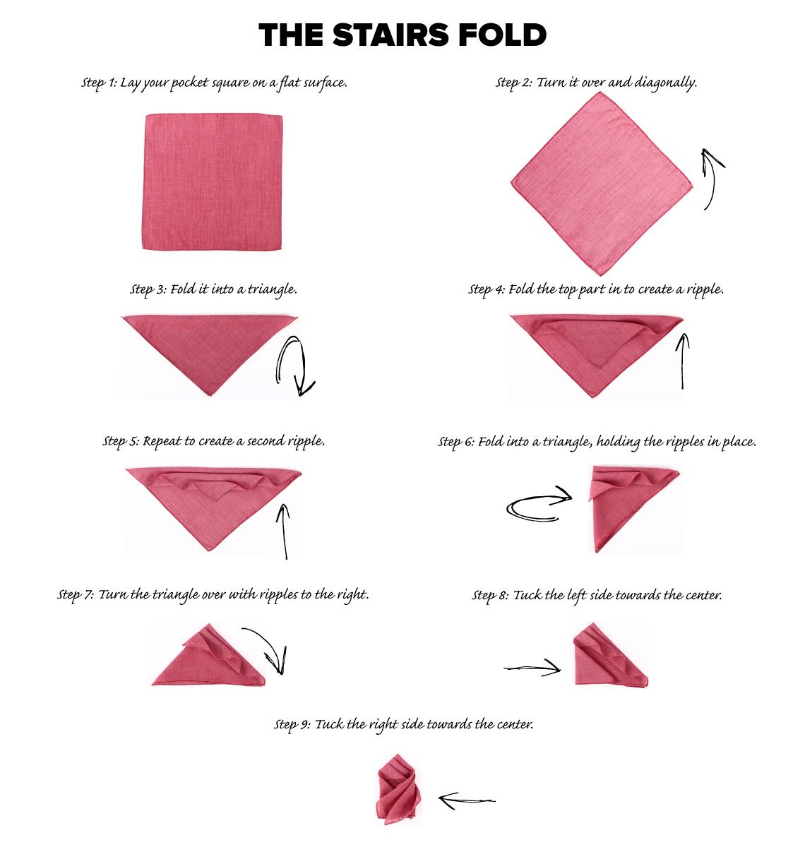 Pochet Stairs vouw