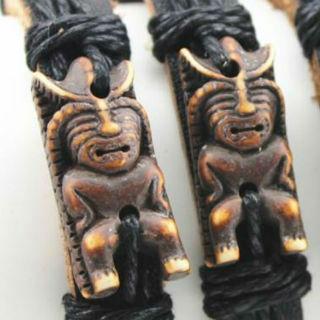 Maori Armband Leer