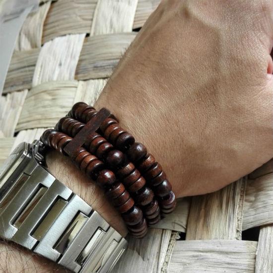 Houten heren sieraad - armband