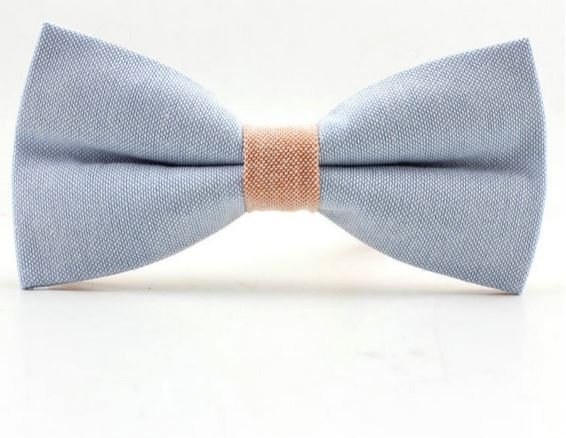 Bow Tie Pastel Blue Pink