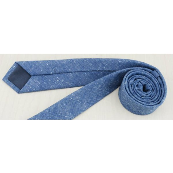 Narrow Denim Tie