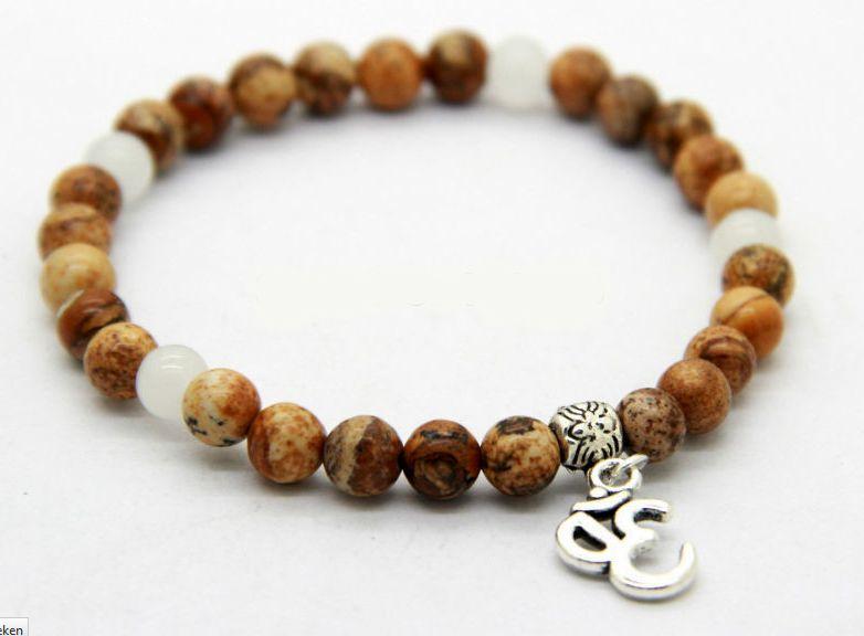 Yoga beads bracelet