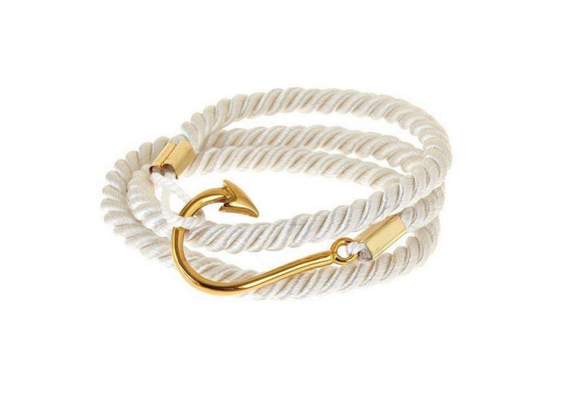 Luxe Wrap Armband Vishaak & Touw