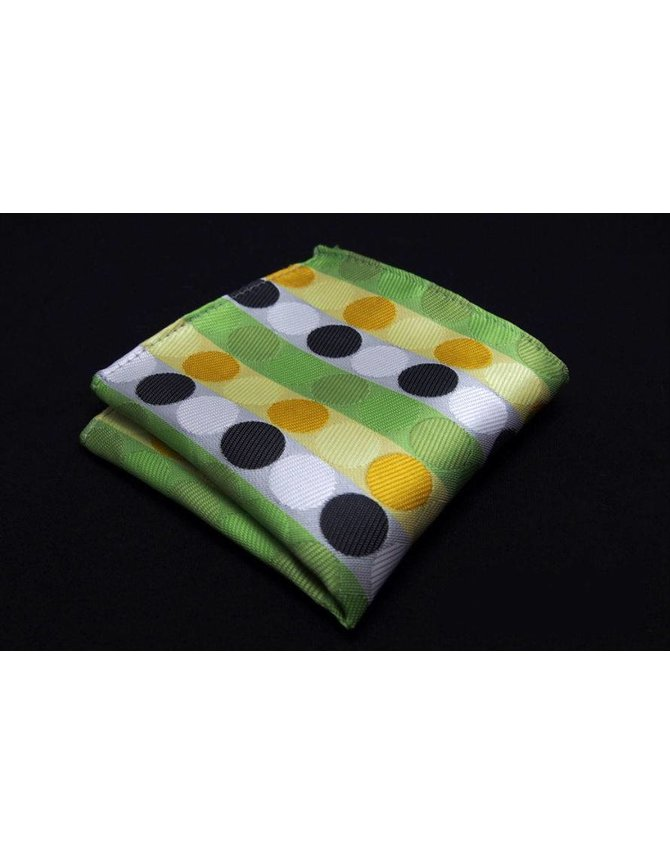 Green spotted handkerchief kopen