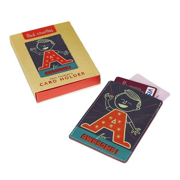 Leren Card Holder - Paul Thurlby in het