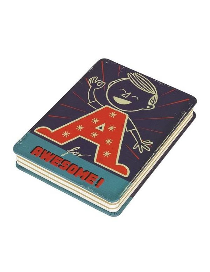 A is for Awesome Notitieblok - Paul Thurlby kopen