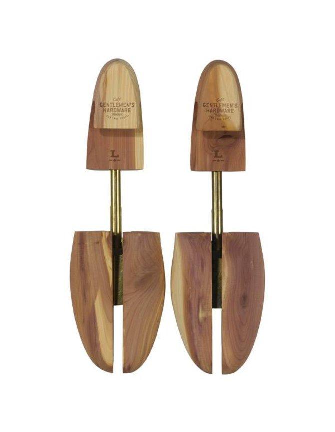 Wooden Shoe Tree's Size 9-10 kopen
