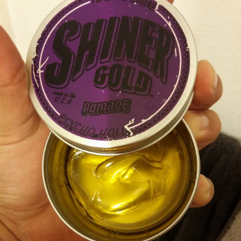 Shiner Gold Psycho Hold Haar Pommade