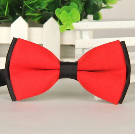 Bow Tie Red and Black