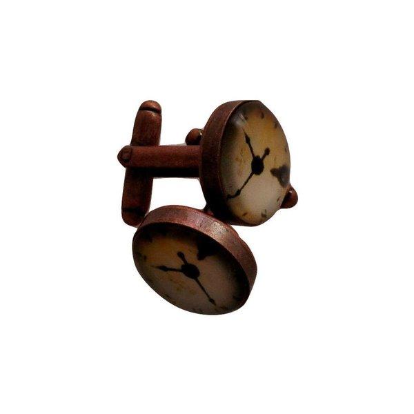 Cuff Links Clock Design in het
