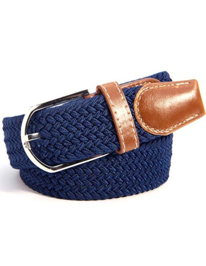 Canvas Belt Blue kopen