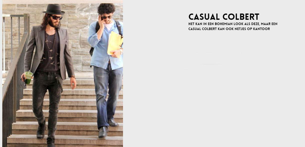 Casual Colbert