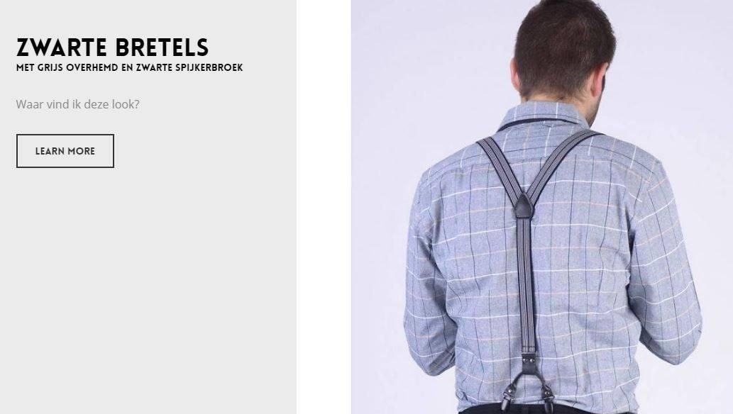 Bretels dragen