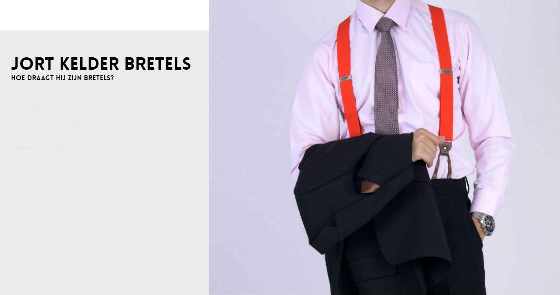 Jort kelder bretels dragen