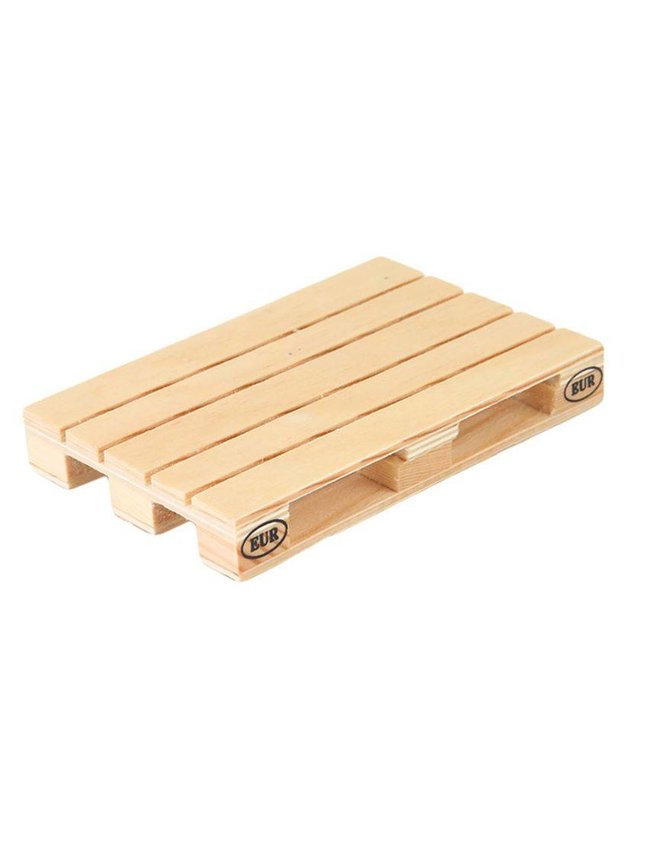 Reclaimed wood pallet coasters set of 4 kopen