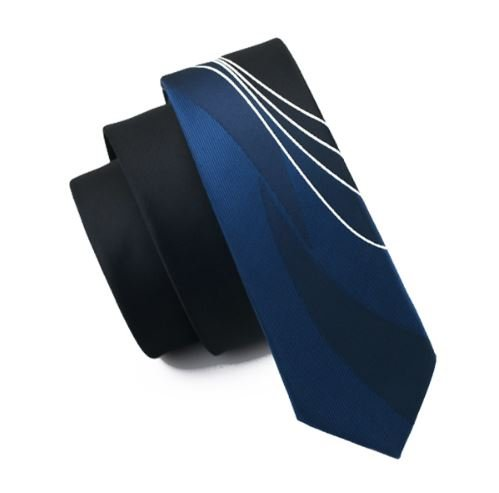 Extra narrow tie darkblue