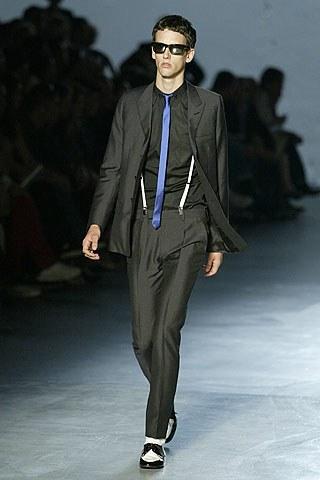 Bretels op de catwalk Dior