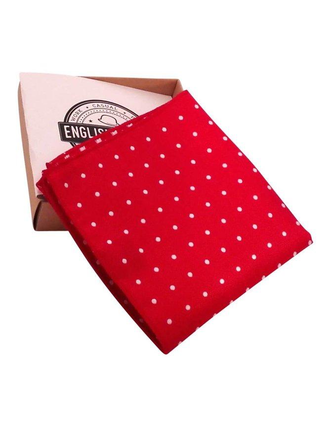 Pochet Rood Polkadot kopen