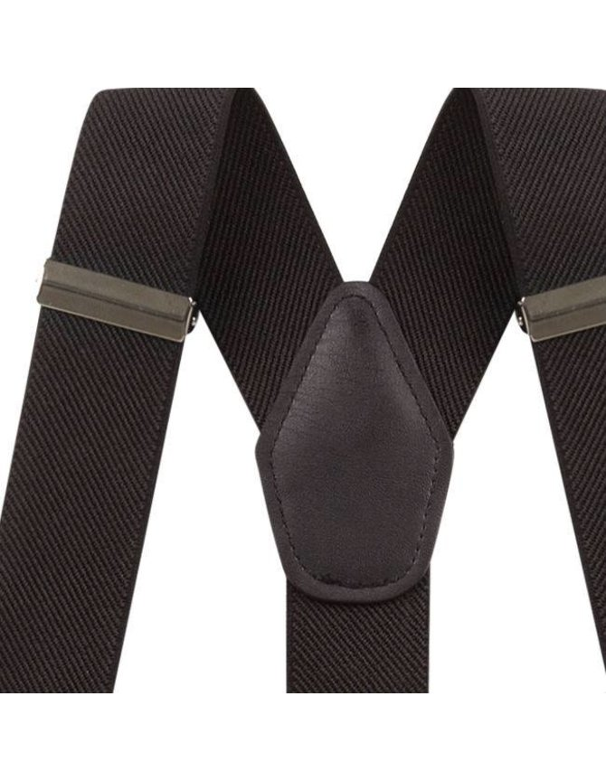 Suspenders Black with clips or buttons kopen