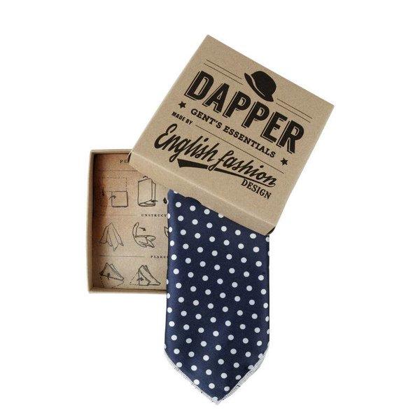 Blue Handkerchief polka dot in het