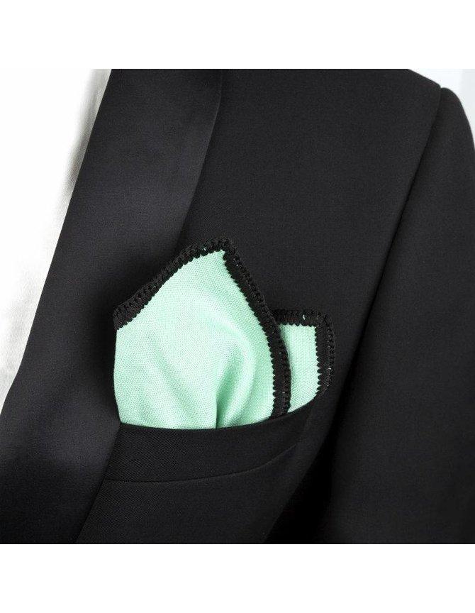 Wool Pocket Square Pastel Green kopen
