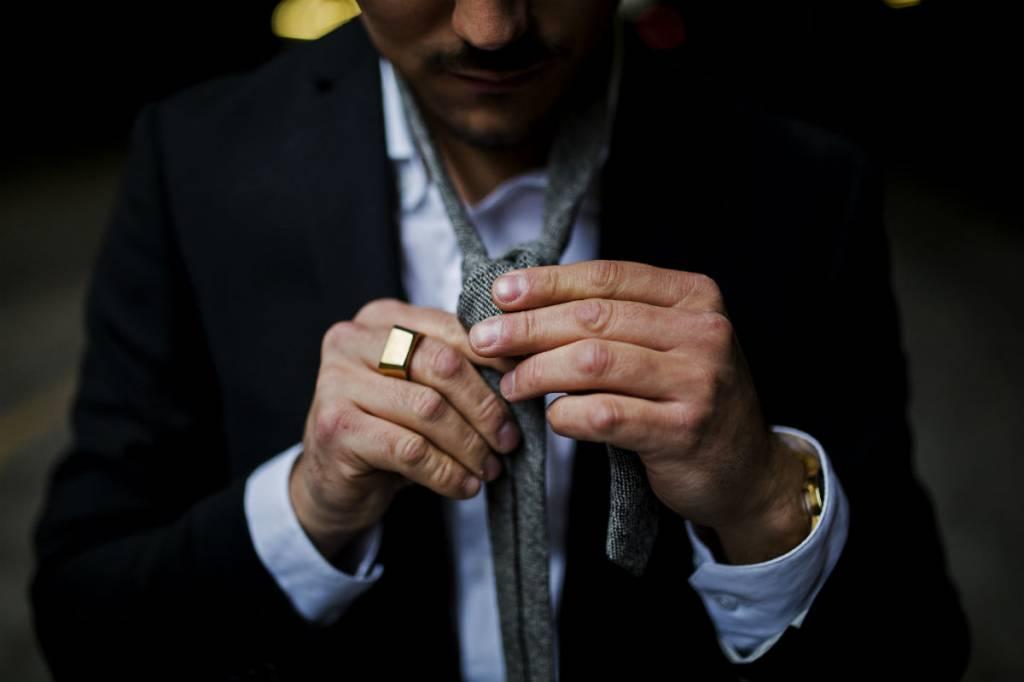 Match je pak, shirt en stropdassen als een baas