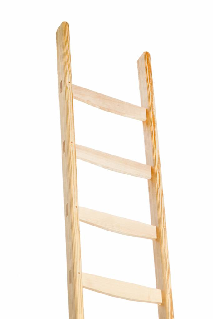 Professionel enkel houten ladder vaste - Deco houten trap ...