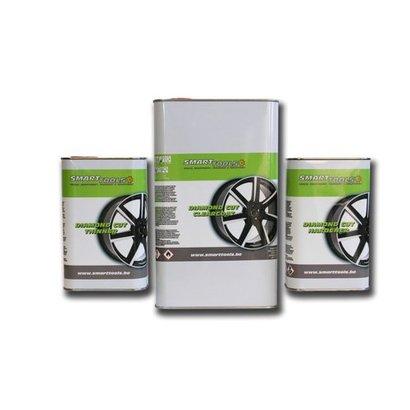 Diamond Cut Velgen pakket (Thinner/Clearcoat & Hardener) Herstelsysteem