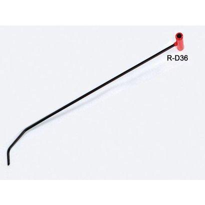 """Double Bend Door Rod 7/16"""" ø36"""