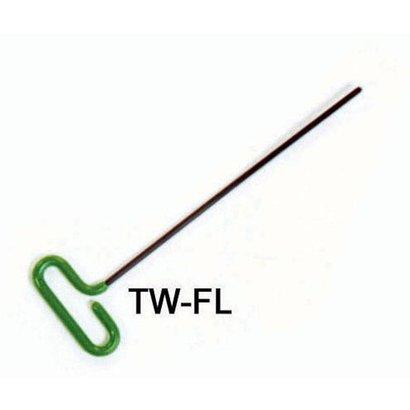 "T Handle Tip Flat ø243 x 14 """