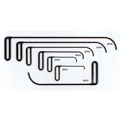 Crochet de panneau latéral Set (7 pièces)