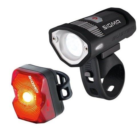 Sigma Buster 200 + Nugget fietsverlichting - mtbXpert