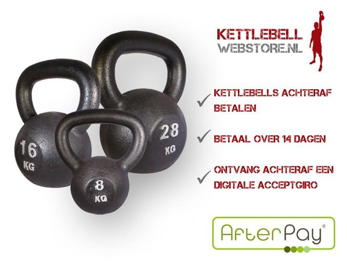 Kettlebell bestellen – Kettlebells achteraf betalen