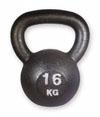 Kettlebell 16 kg gietijzer