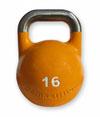 Competitie kettlebell 16 kg staal (Wedstrijd kettlebell 16 kg)