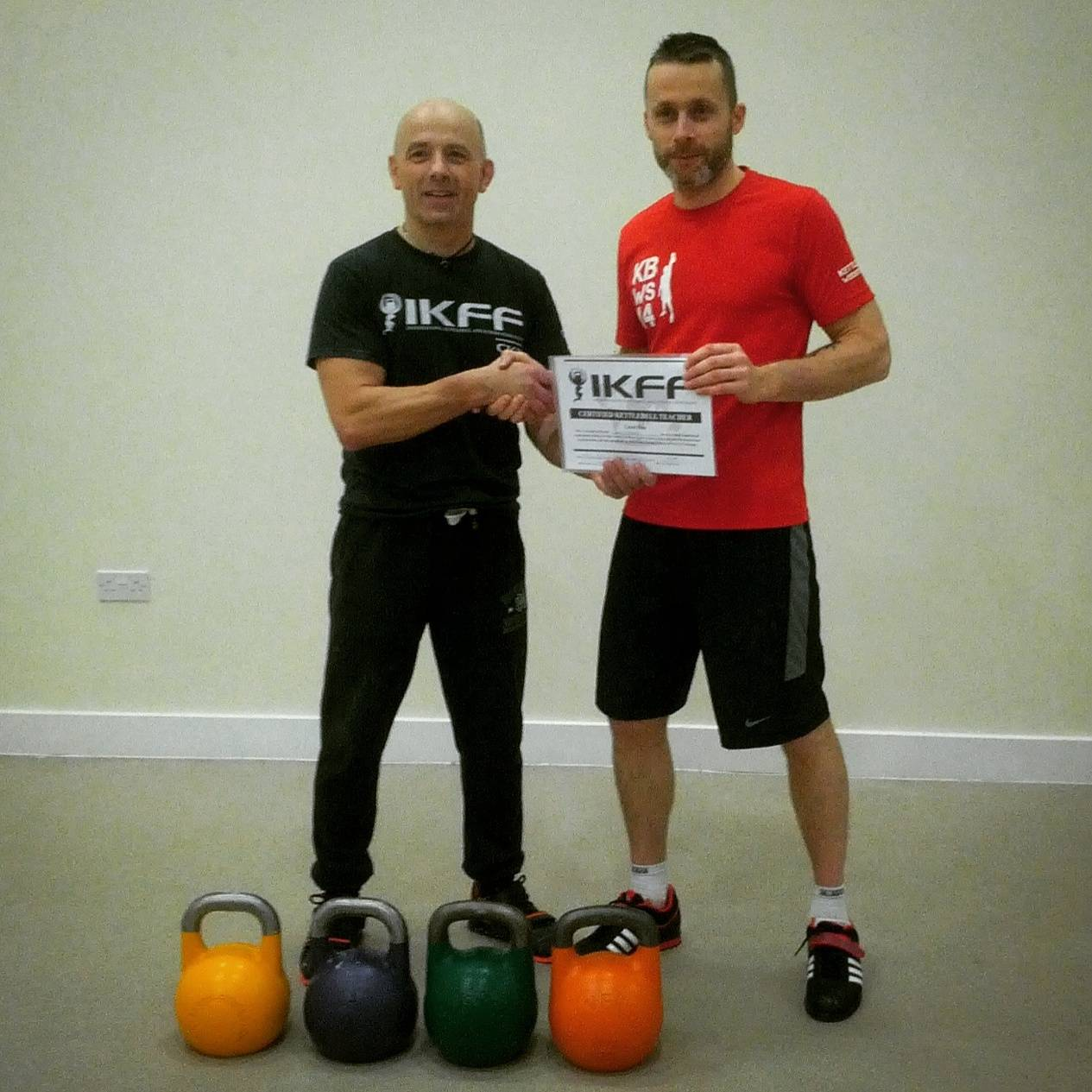 IKFF Certified Kettlebell Trainer – Barry Andre